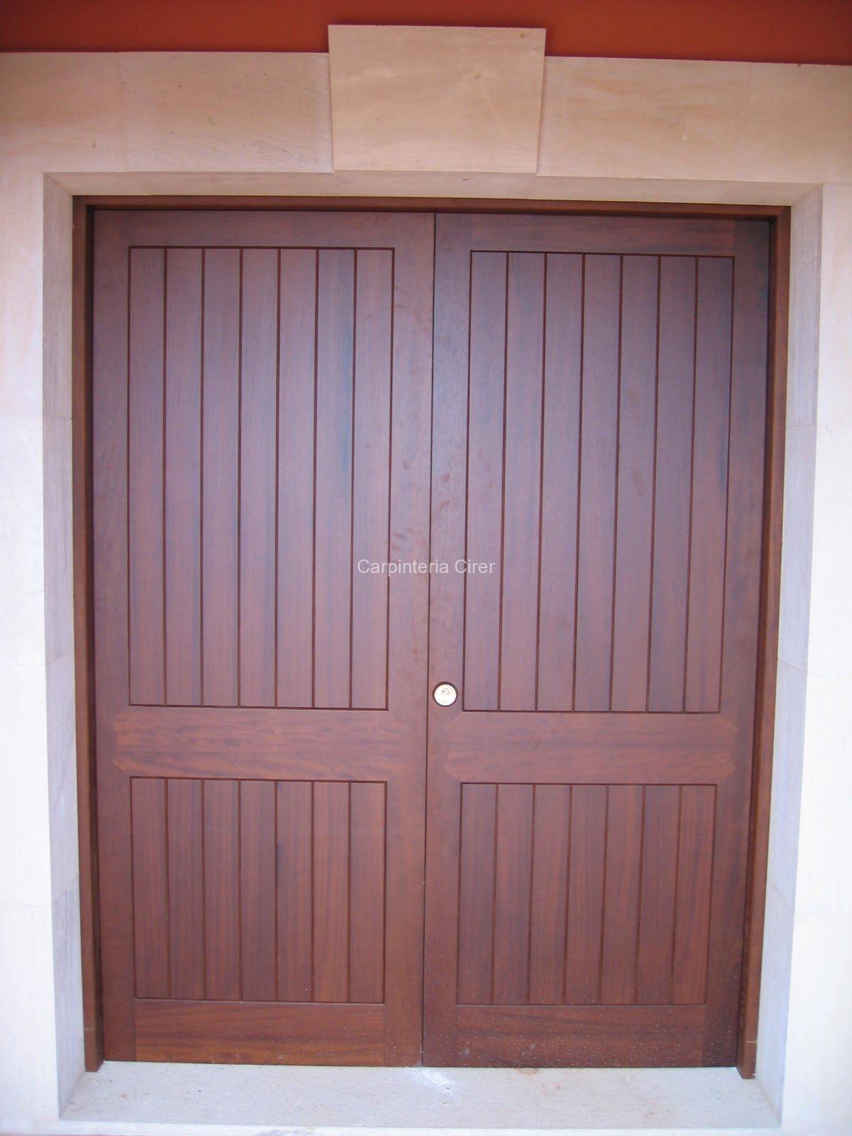 puerta principal cirer