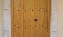 puerta rustica madera cirer